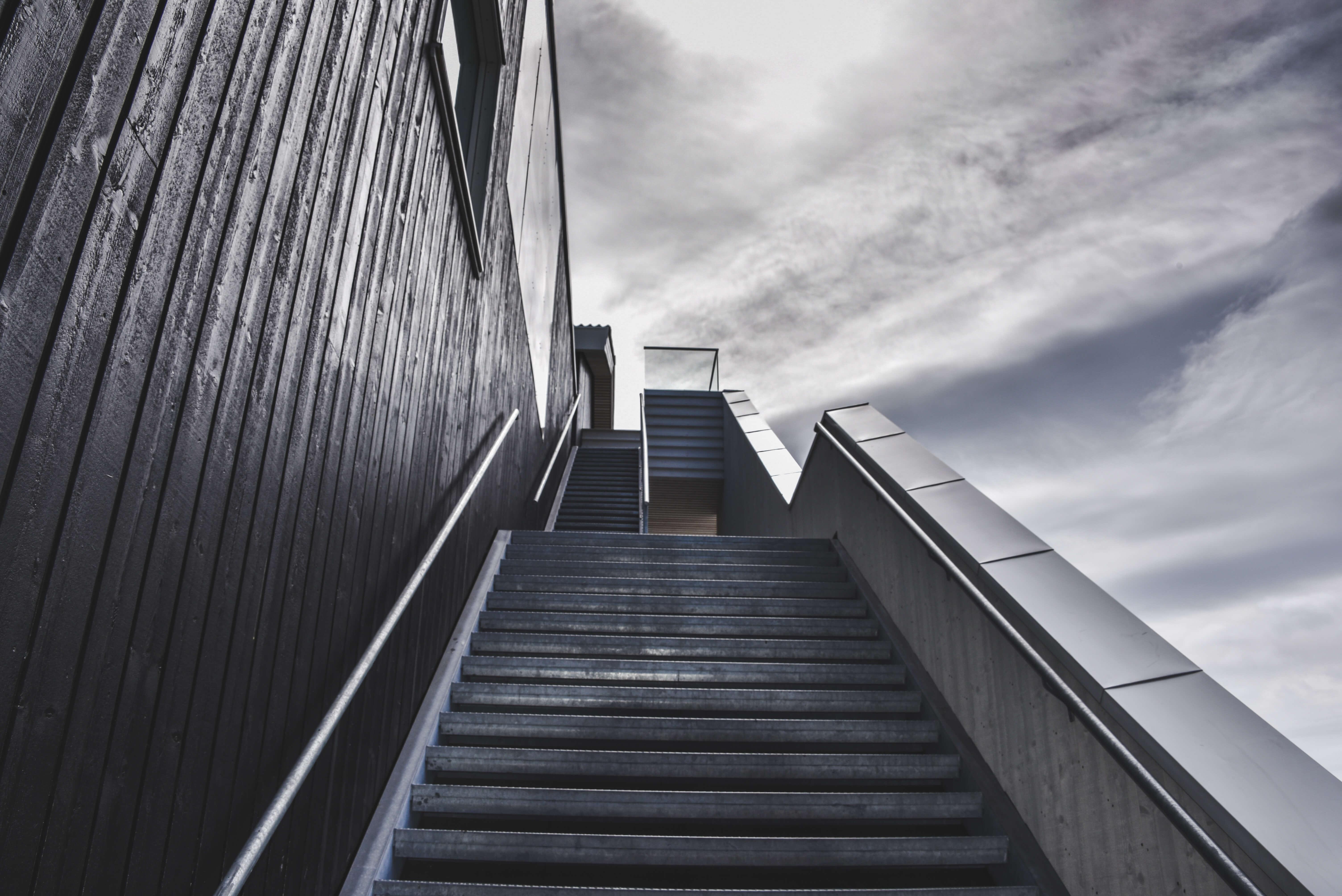 黑白,楼梯