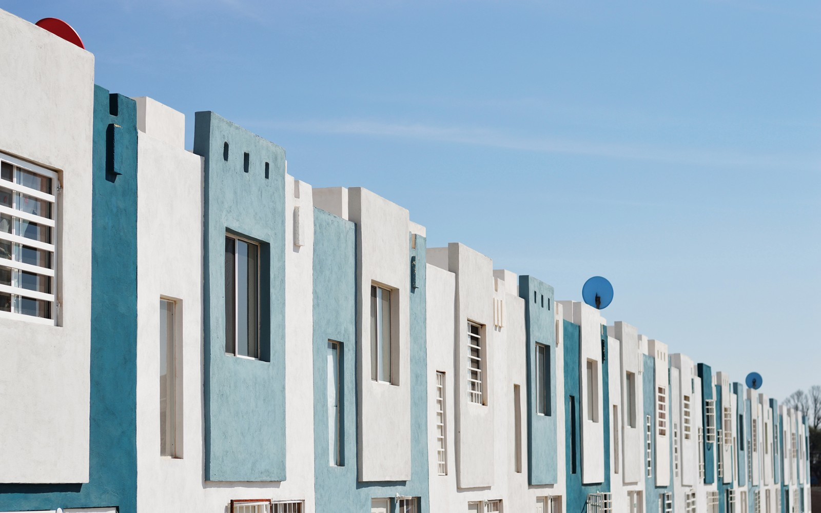 建筑,藍色